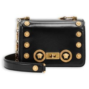 Versace Crossbody Leather Bag